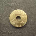 Vera Vita (Bijou à Cours Légal - LSP)  5000 Francs CFA Tchad